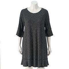 Plus Size LC Lauren Conrad Ruffle Sheath Dress