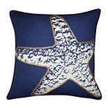 Spencer Home Decor Starfish Throw Pillow