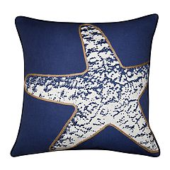 Spencer Home Decor Starfish Throw Pillow