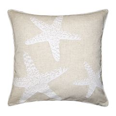 Spencer Home Decor Three Starfish Throw Pillow