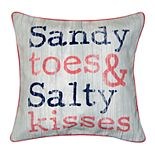 Spencer Home Decor ''Sandy Toes'' Throw Pillow