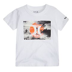 Toddler Boy Hurley Logo Graphic Tee