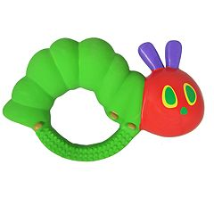 Baby The World of Eric Carle The Very Hungry Caterpillar Natural Rubber Teether