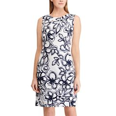 Women's Chaps Floral Sheath Dress
