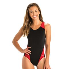 Women's Dolfin Ocean Performance Back Colorblock One-Piece Swimsuit