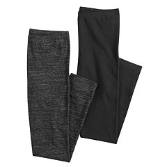 Juniors' SO® 2-Pack Long Leggings