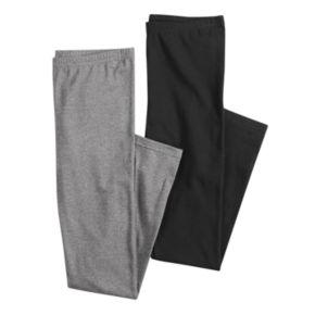 Juniors' SO® 2-Pack Long Leggings