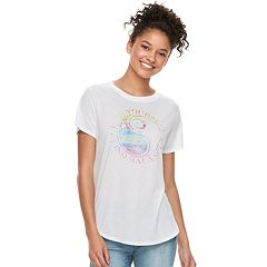 Juniors' Modern Lux 'Find Yourself Find Balance' Graphic Tee