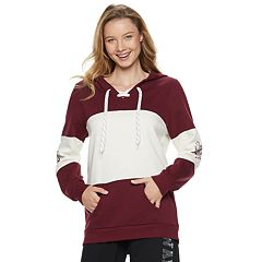 Juniors' Harry Potter Gryffindor Lace-Up Graphic Hoodie