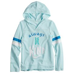 Girls' 7-16 SO® Varsity Graphic Hooded Sweatshirt