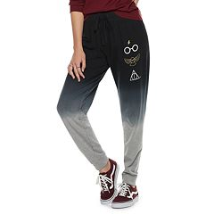 Juniors' Harry Potter Icons Dip-Dyed Jogger Sweatpants