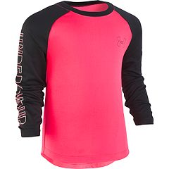 Girls' 4-6x Under Armour Colorblock Raglan Tee