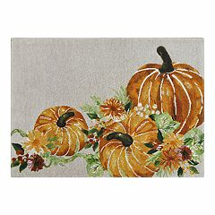 Celebrate Fall Together Pumpkin Tapestry Placemat