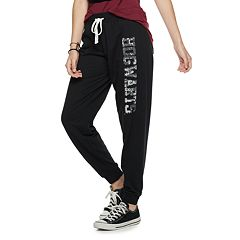 Juniors' Harry Potter Hogwarts Sequin Jogger Sweatpants