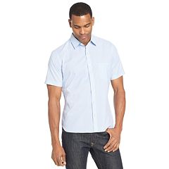 Big & Tall Van Heusen Slim-Fit Never Tuck Button-Down Shirt