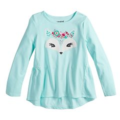 Girls 4-10 Jumping Beans® Shirred-Back Top