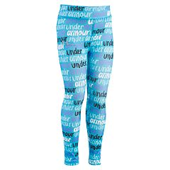 Girls 4-6x Under Armour Brushmark Print Leggings
