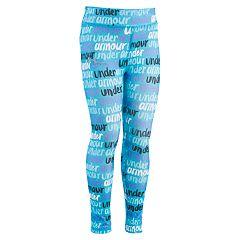 Girls 4-6x Under Armour Brushmark Print Leggings