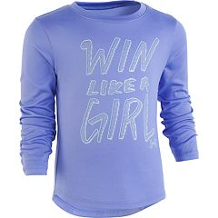Girls 4-6x Under Armour 'Win Like A Girl' Graphic Tee
