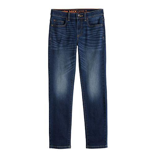 Boys 8-20 Urban Pipeline™ MaxWear Tapered-Fit Twill Jeans