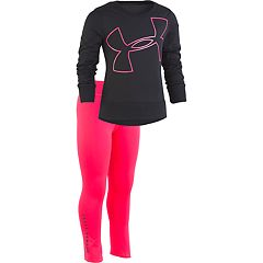 Girls 4-6x Under Armour Logo Sweatshirt & Leggings Set