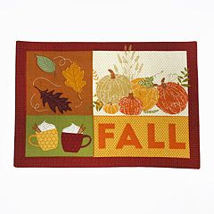 Celebrate Fall Together Patchwork Placemat