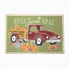 Celebrate Fall Together Truck Placemat