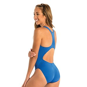Women's Dolfin Ocean Performance Back Solid One-Piece Swimsuit
