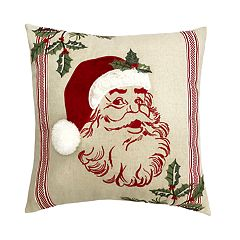 St. Nicholas Square® Santa Audio Throw Pillow