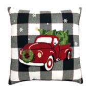St. Nicholas Square® Truck & Tree Throw Pillow