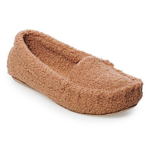 Women's SO® Basic Moccasin Slippers