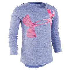 Girls 4-6x Under Armour Space-Dye Logo Graphic Tee