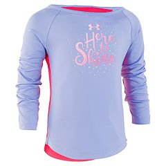 Girls 4-6x Under Armour 'Here To Shine' Graphic Top