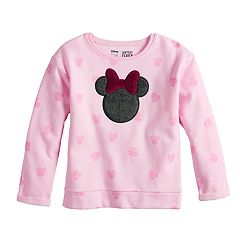 Disney's Minnie Mouse Girls 4-10 Softest Fleece Pullover by Jumping Beans®