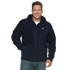 Men's New Balance Sherpa-Lined Hooded Polar Fleece Jacket