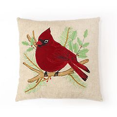 St. Nicholas Square® Cardinal Throw Pillow