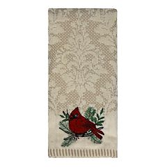 St. Nicholas Square® Christmas Traditions Cardinal Hand Towel