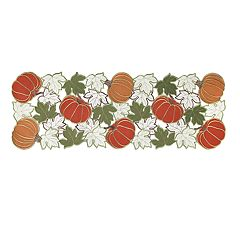 Celebrate Fall Together Cutout Pumpkin Table Runner - 36'