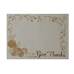 Celebrate Fall Together Thankful Placemat