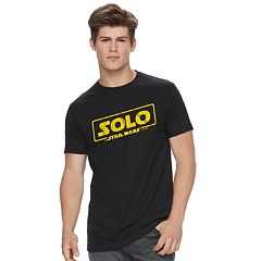 Men's Han Solo Movie Logo Tee