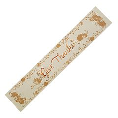 Celebrate Fall Together Thankful Table Runner - 72'
