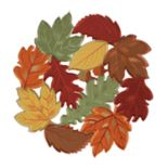 Celebrate Fall Together Cutout Leaf Placemat 4-pack
