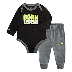 Baby Boy Nike 'Born Legend' Bodysuit & Pants Set