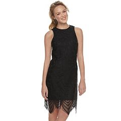 Juniors' Love, Fire Lace Bodycon Dress