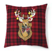 St. Nicholas Square® Deer Throw Pillow