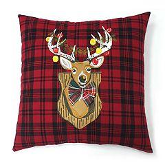 St. Nicholas Square® Deer Throw Pillow