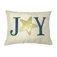 St. Nicholas Square® Coastal 'Joy' Throw Pillow