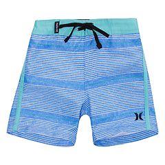 Baby Boy Hurley Shoreline Striped Board Shorts