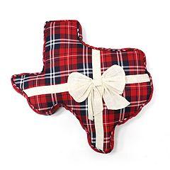 St. Nicholas Square® Texas Shaped Throw Pillow