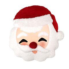 St. Nicholas Square® Talking Santa Throw Pillow